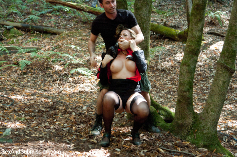 Nude women fucking in the woods — 11